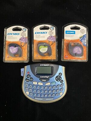 Dymo Letrataglt-100t Label Maker With Refills