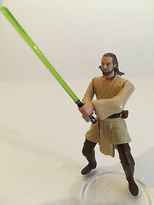 Star Wars: Qui-Gon Jinn from Theed Hangar Playset - Episode 1 Collection 1999