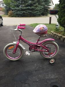 """Children's 16"""" girls Bicycle for sale."""