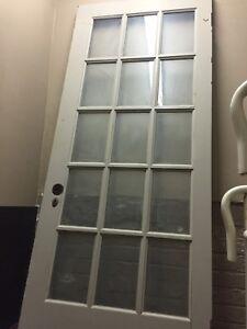 Antique Vintage Solid Wood French Door & Four Panel Door 4 Sale!