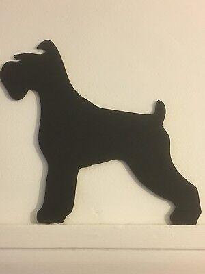 Schnauzer Door Topper Cute Dog Stand Present Gift 🎁 Picture Top