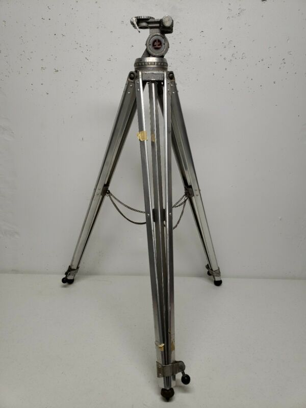 SWISS BOLEX ALUMINUM TRIPOD with level Made in Switzerland