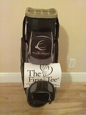 Club Count Technology Cart Golf bag with 14-way dividers