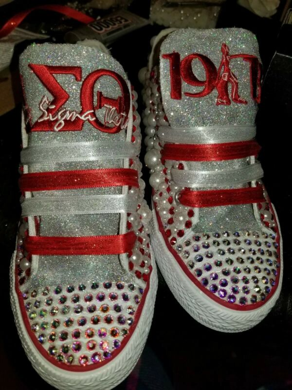 Delta sigma theta sorority shoes