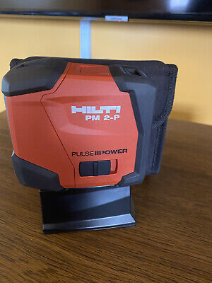 New Hilti Pm 2-p - Laser Level Plum Laser Two Point.