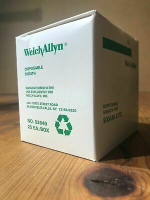 Welch Allyn Disposable Sheath Exam Light Ref 52640 - Case Of 125