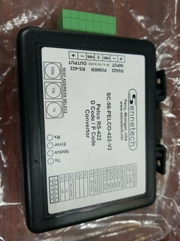 Sennetech SCT-100 Camera Code Translator Bosch RS232 Pelco RS-422