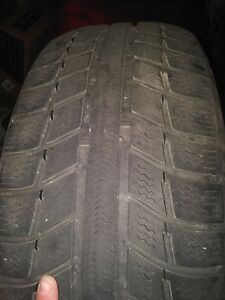 MICHELIN WINTER TIRES with RIMS 225 55 16 Kitchener / Waterloo Kitchener Area image 3