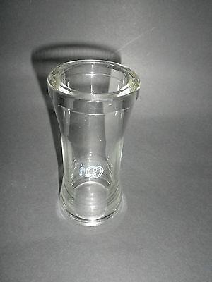 QVF  ® TYP PS 25 / 125 DN 25  Länge 125 mm Planflansch Glasrohr Glas