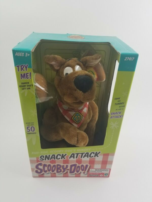 Vintage 2001 New in Box Snack Attack Scooby Doo #27417