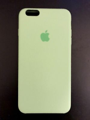 Open Box Genuine Apple iPhone 6/6S Plus Silicone Case - MINT (MM692ZM/A)