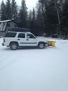 2003 Chevy Tahoe with Snow Plow