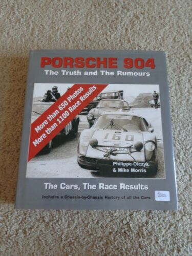 PORSCHE 904 - THE TRUTH AND THE RUMOURS By Olczyk & Morris History