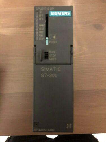 Siemens 6ES73172AK140AB0 Processor/Controller