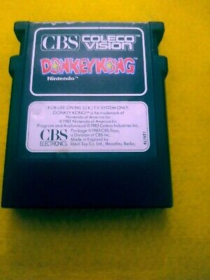 Colecovision Donkey Kong Cartridge((CBS Colecovision) Untested