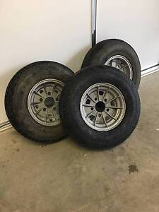 Boat trailer wheels & tyres Yarrawonga Moira Area Preview