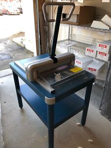 Dahle 852 Manual Stack Paper Cutter