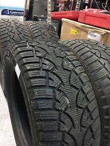 4 pneus hiver Général altimax 225/55r16 bon pour 2 hiver facile