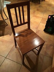 Set of 4 kitchen chairs (Ikea)