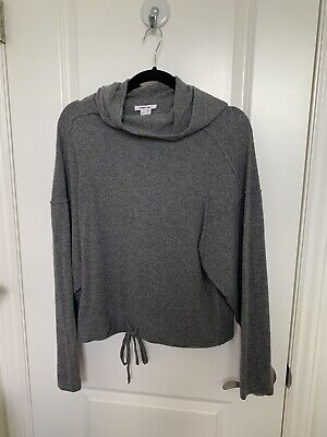 Helmut Lang Cashmere Hoodie Size Medium Gray, Pre-owned