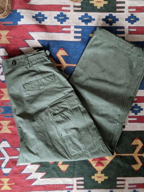 Vintage M-51 field pants fatigues W 32
