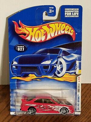 NEW Hot Wheels Diecast 1:64 #027, 2001 First Editions Honda Civic SI, 15/36 MC