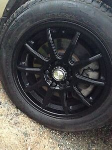 Rims and tire summer package