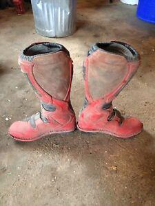 Thor motocross boots size 9  Kitchener / Waterloo Kitchener Area image 1