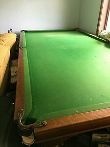 10x5 Tasmanian Oak Pool Table Negotiable on price Morwell Latrobe Valley Preview