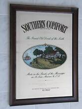 SOUTHERN COMFORT GRAND OLD DRINK OF THE SOUTH MIRROR SIGN Aberfoyle Park Morphett Vale Area Preview