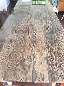 Wooden table with Glass top- excellent condition! Coorparoo Brisbane South East Preview