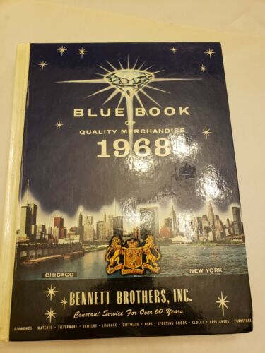 VINTAGE BENNETT BROTHERS BLUE BOOK OF QUALITY MERCHANDISE 1968