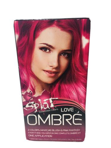 Splat Rebellious Colors Love Ombre Make Me Blush And Pink Fantasy Semi Permanent - $13.50