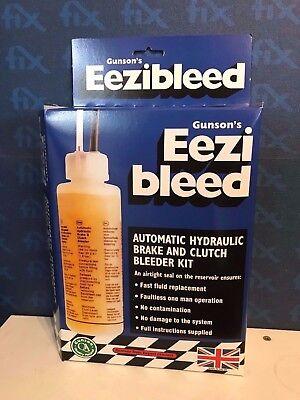 GUNSON ORIGINAL UK EEZIBLEED - Brake Clutch Bleeder Bleeding Tool Home DIY Tool