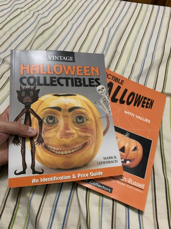 vintage halloween collectibles books