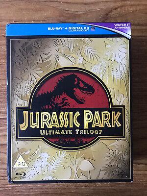 Jurassic Park Ultimate Trilogy (Blu-ray) FAST POST