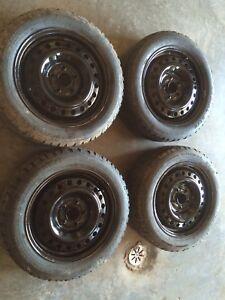 Honda Civic winter tires.