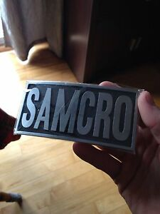 Sons of Anarchy buckle