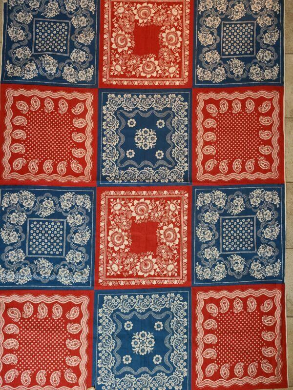 Vintage Bandana Fabric