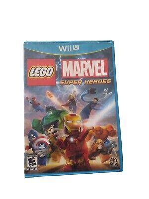 LEGO Marvel Super Heroes (Nintendo Wii U, 2013)