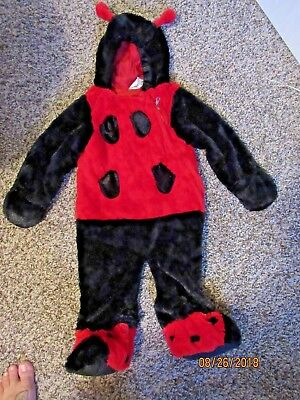Infant Lady Bug Halloween Costume Size 9-18 Months - Lady Bug Infant Costume