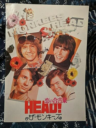 The Monkees - Japanese Import Head Booklet