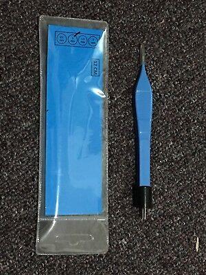 American Adson Bipolar Forceps 12cm Blue Reusable -surgicalveterinary