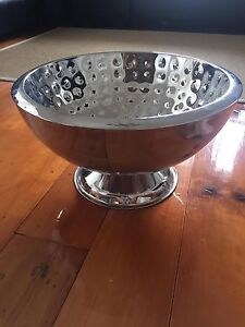 Large stainless steele fruit bowl/ vase  Excellent used condition Moorooka Brisbane South West Preview