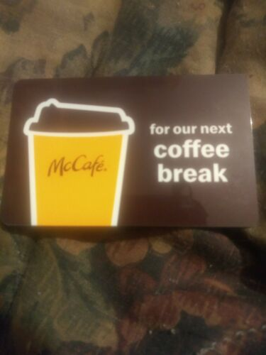 McDonald s Used Collectible Gift Card NO VALUE 6182 5133 - $1.88
