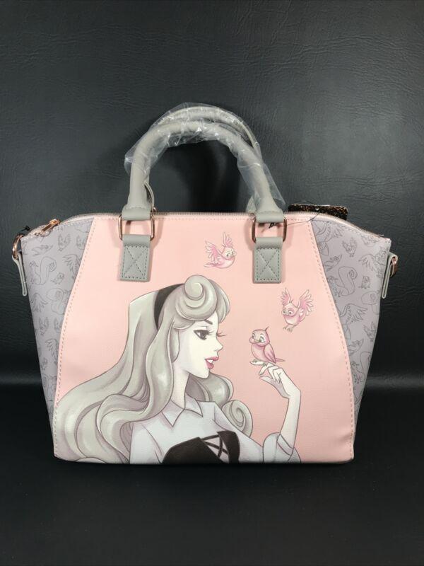 Loungefly Disney Sleeping Beauty Aurora Satchel Crossbody Bag