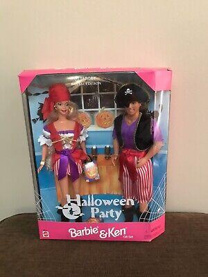 Vintage Barbie & Ken Dolls Halloween Party Gift Set Target Exclusive 19874 NRFB