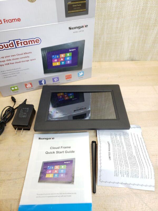 "Sungale 7"" Cloud Photo Frame CPF708 * Bluetooth * Wifi * App Control"