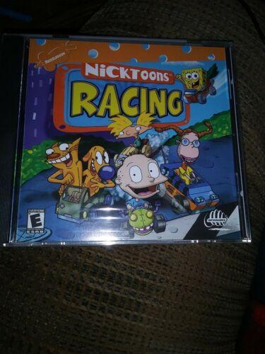 Computer Games - Nicktoons Racing Computer Video Game