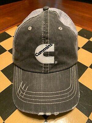 Cummins Diesel Engine Grey Mesh Distressed Cap/Hat](Caps Engineer)